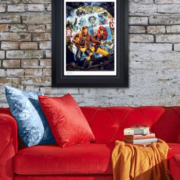 The X-Men #7 Fine Art Print by Artist Jay Anacleto