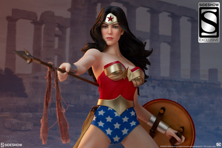 Final Product Photos of the Wonder Woman Sixth Scale Figure
