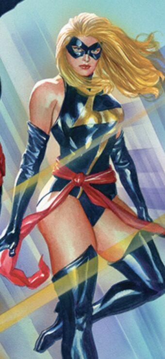 Carol Danvers- Warbird (Alex Ross)