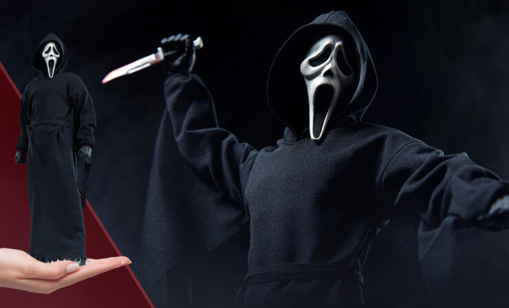 The Ghost Face Sixth Scale Figure