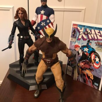Uncanny X-Men Wolverine Black Widow Cap