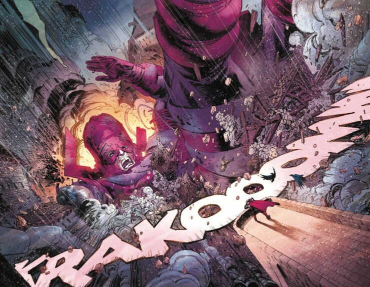Thor #1- Don Cates and Nic Klein- Galactus in Asgard