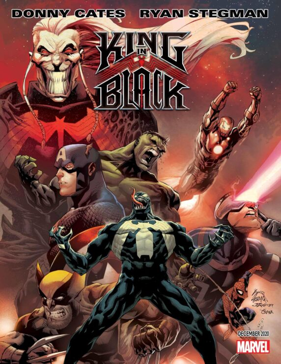 King in Black #1 (Marvel Comics)- Donny Cates and Ryan Stegman