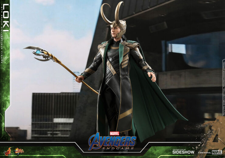 Loki Sixth Scale Figure Endgame- Hot Toys