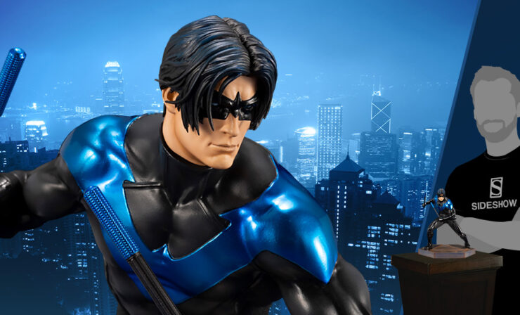 Nightwing Statue- DC Comics