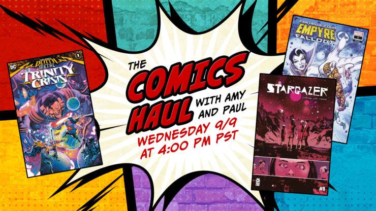 Cyberpunk 2077: Trauma Team, Stargazer #1, The Rise of Ultraman- The Comics Haul with Amy and Paul: September 9th