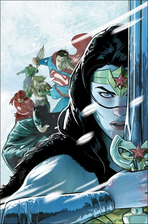 Justice League: Endless Winter #1 (DC Comics)- Ron Marz and Andy Lanning