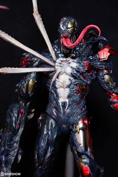 Venomized Iron Man