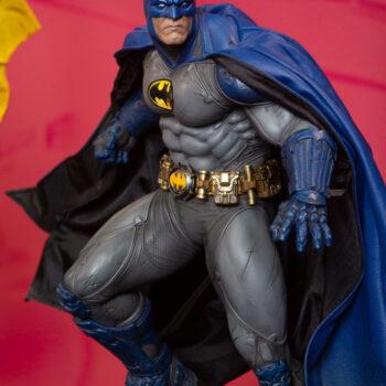 Batman Blue Cape Variant Premium Format Figure Left Side