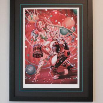 Poison Ivy & Harley Quinn- John Keaveney