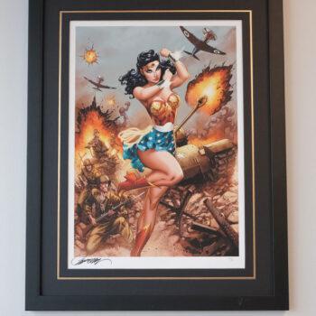 Wonder Woman WWII- J. Scott Campbell
