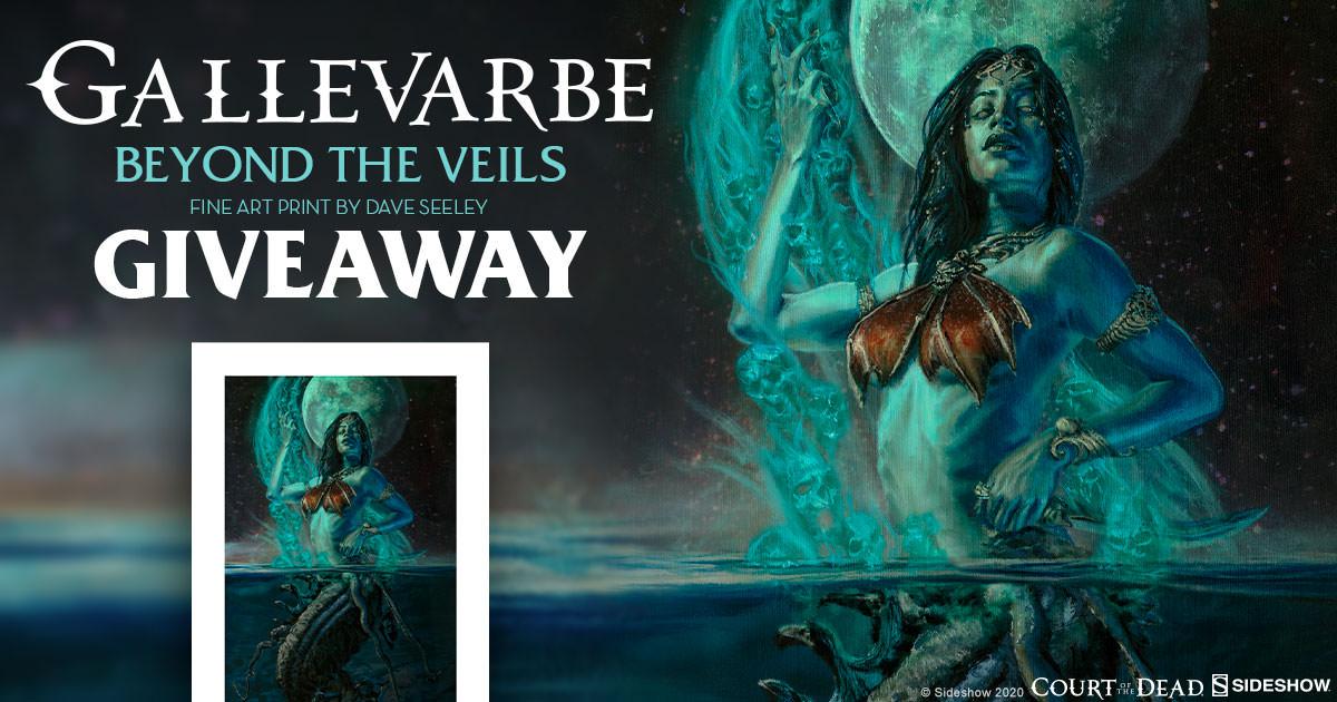 Gallevarbe: Beyond the Veils Fine Art Print Giveaway