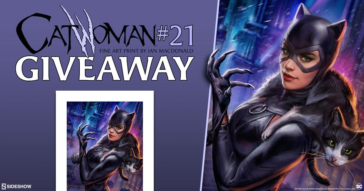 Catwoman #21 Fine Art Print Giveaway