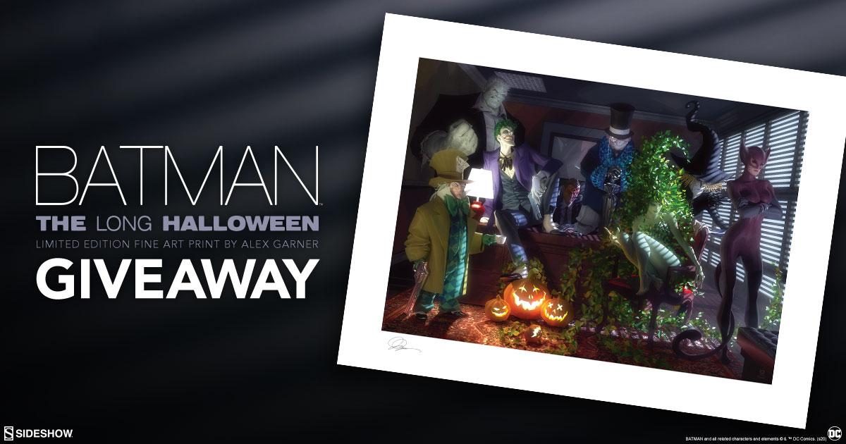 Batman: The Long Halloween Fine Art Print Giveaway