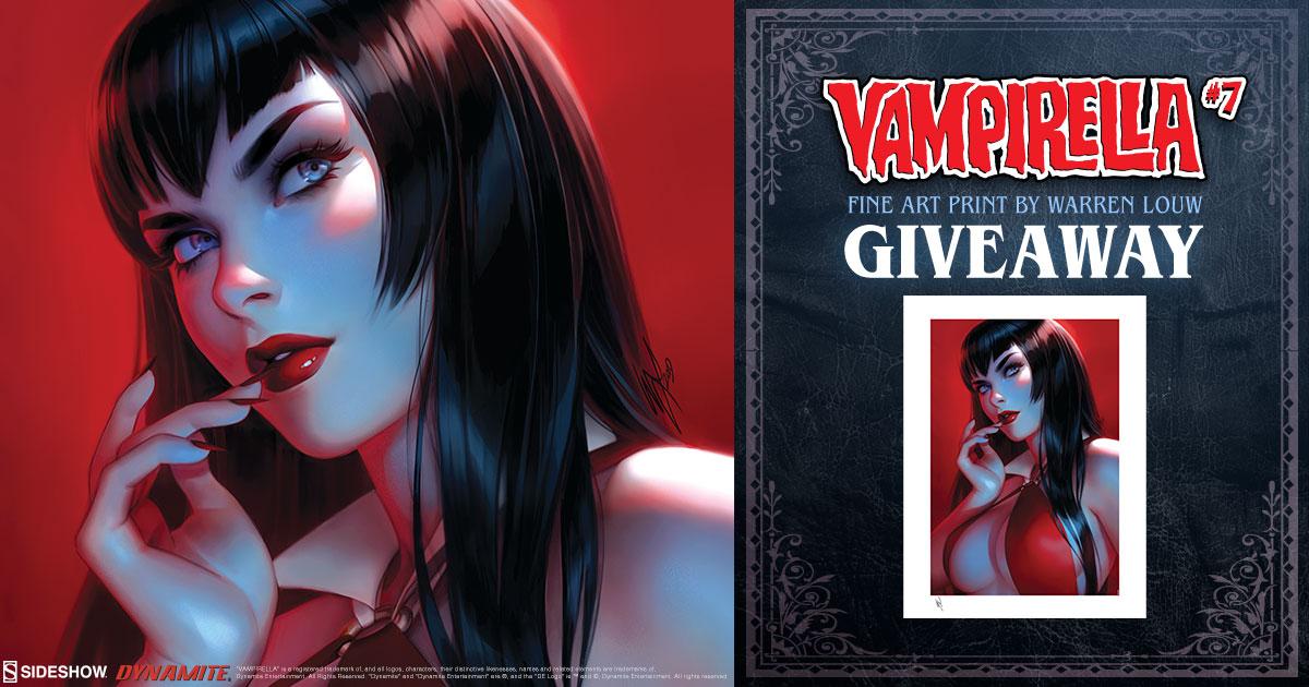 Vampirella #7 Fine Art Print Giveaway