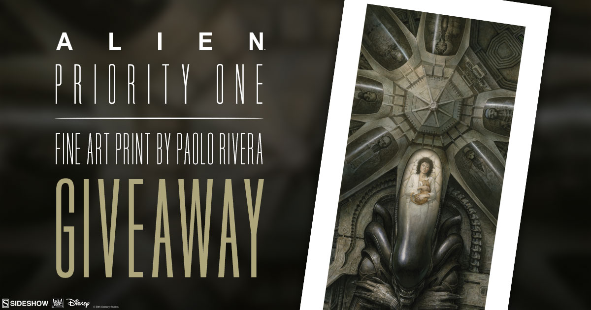 Alien: Priority One Fine Art Print Giveaway