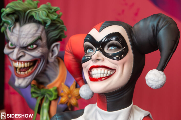 Harley and The Joker Life-Size Busts