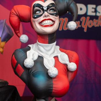 Harley Quinn Life Size Bust