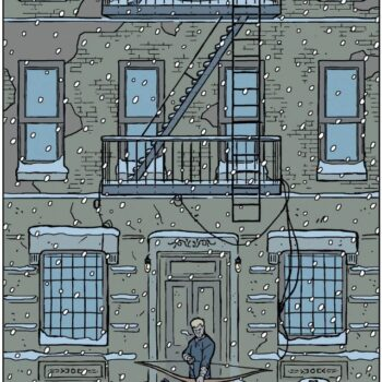 Hawkeye's Bed-Stuy Apartment