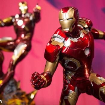 Iron Man Mark VII Maquette and Iron Man XLIII Maquette