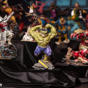 Iron Studios Marvel Sideshow NY Con Display