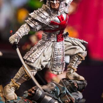 Silver Samurai 1:10 Scale Statue