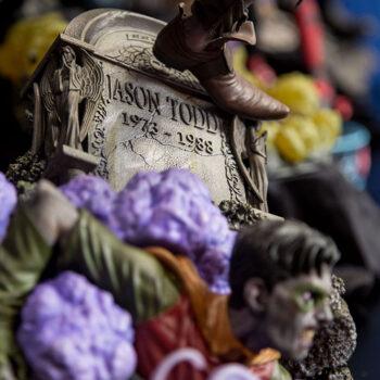 Scarecrow Premium Format Base Close Up