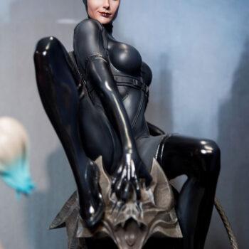 Catwoman Premium Format Figure Close Up
