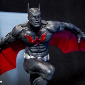 Batman Beyond Premium Format Figure Close Up