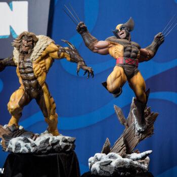 Wolverine and Sabretooth Premium Format Figure