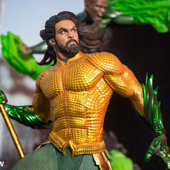 Aquaman Premium Format Figure Close Up