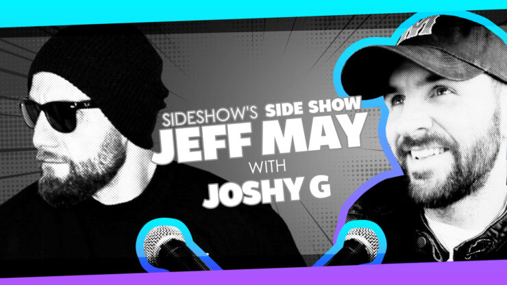 Training WWE Stars, Working on Marvel Films AND Jeopardy with Sideshow Host Joshy G on Sideshow's Side Show with Jeff May