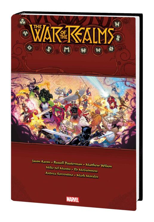 War of the Realms Omnibus (Marvel Comics)- Jason Aaron, Russell Dauterman, Matt Wilson, Joe Sabino