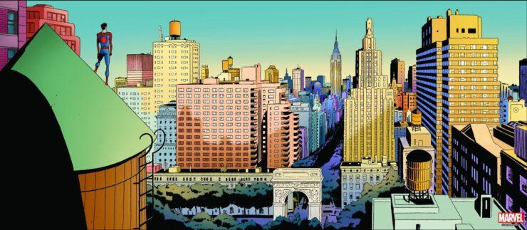 Spider-Man #655 (Marvel Comics)- Writer: Dan Slott, Artist: Marcos Martin, Colors: Munsta Vicente
