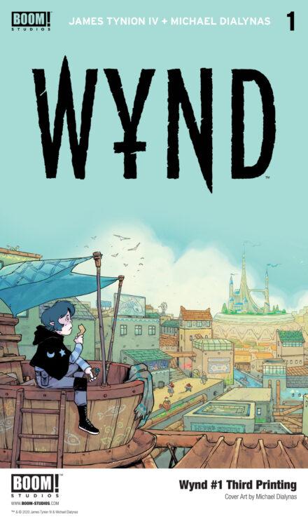 WYND #1 (Third Printing)- BOOM! Studios