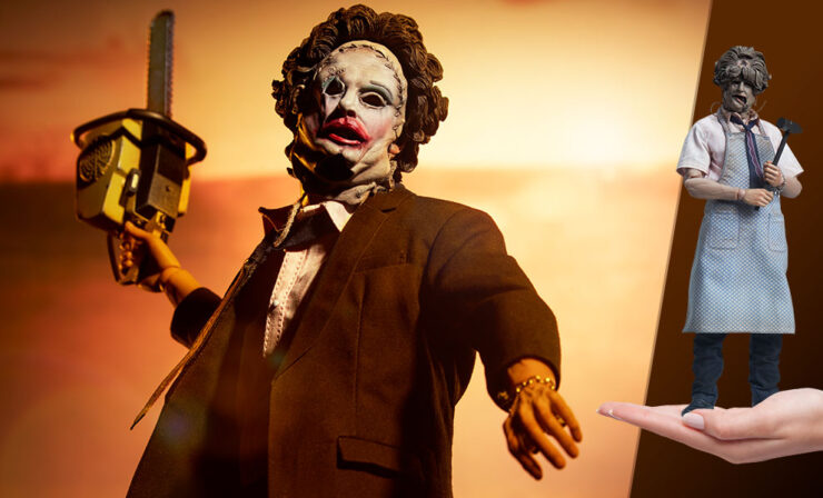 The Leatherface Deluxe Sixth Scale Figure
