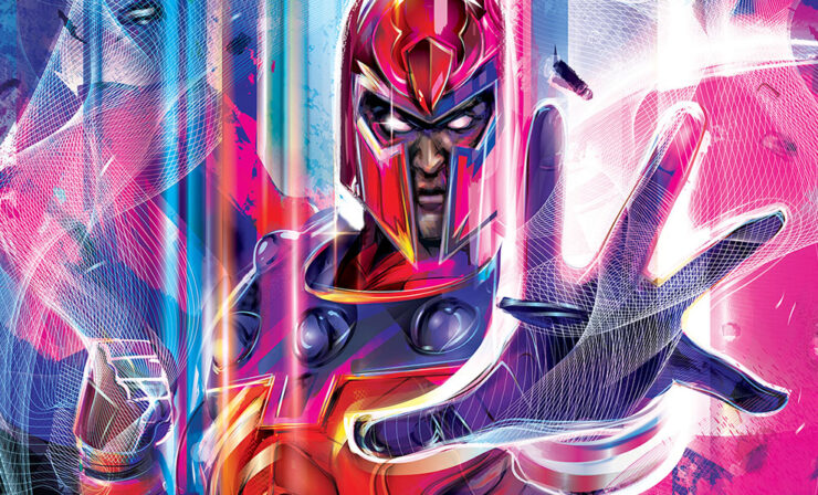 The Magneto Fine Art Print by Artist Orlando Arocena