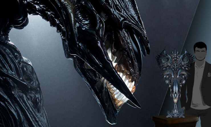 Final Product Photos of the Alien Queen Mythos Legendary Scale™ Bust