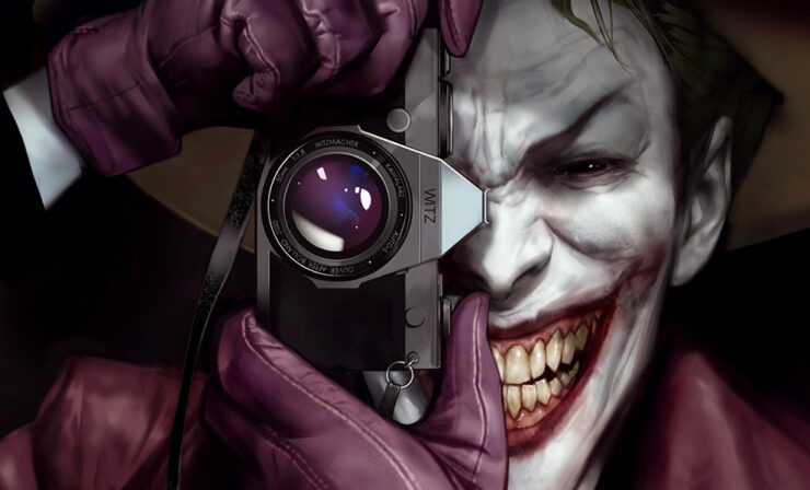 The Killing Joke Fine Art Print by Artist Ben Oliver