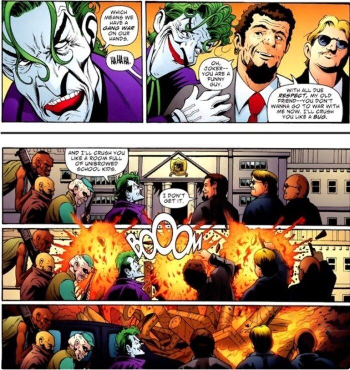 The Joker Blows Up a School