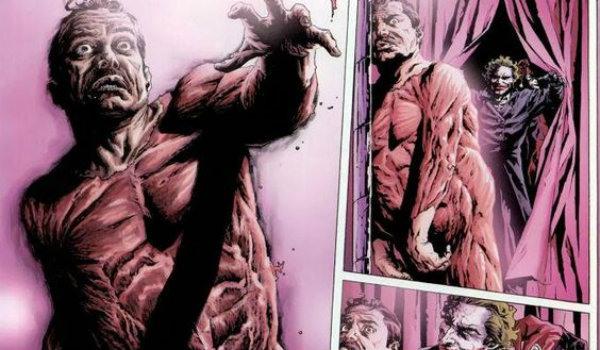 The Joker Skins a Man