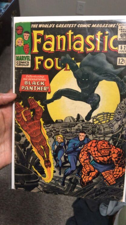 Fantastic Four #52- Black Panther