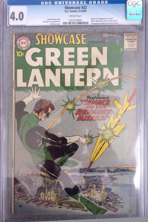 Green Lantern- Showcase #22