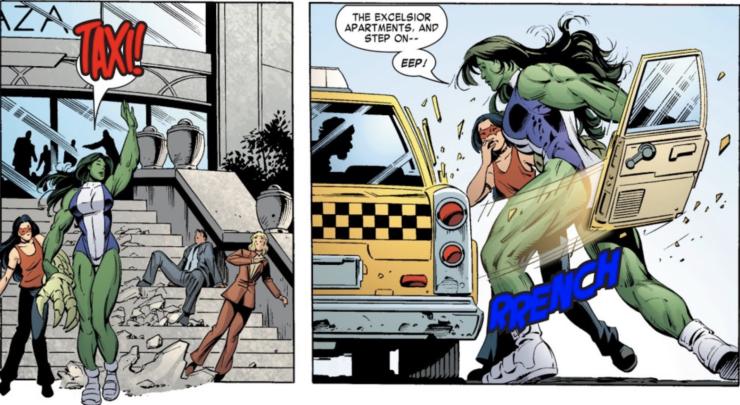 She-Hulk #9 (Marvel Comics) Writer: Dan Slott, Artist: Juan Bobillo, Colors: Chris Chuckry