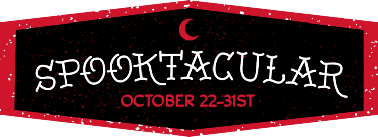 Full Event Schedule- Sideshow's Spooktacular 2020, October 22nd- October 31st