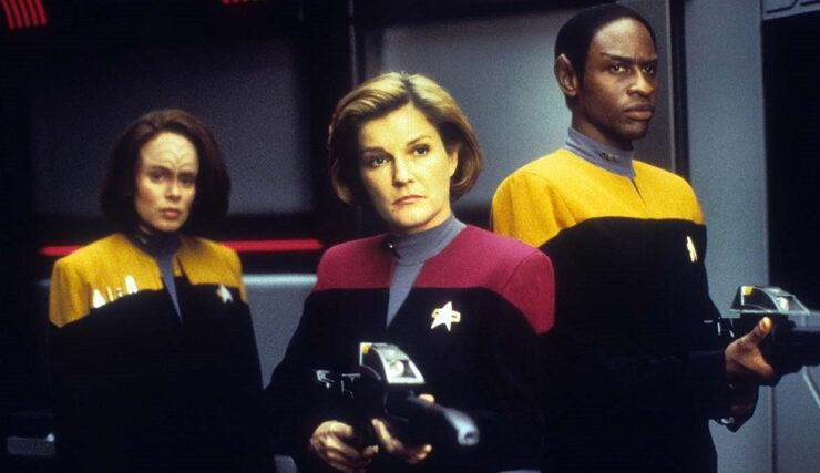 Captain Janeway- Star Trek: Voyager