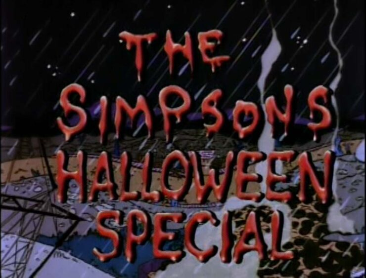 Simpsons- Treehouse of Horror V