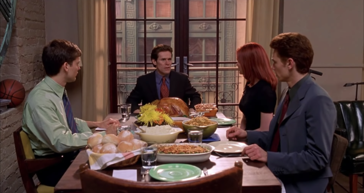 Spider-Man 2002- Thanksgiving Dinner