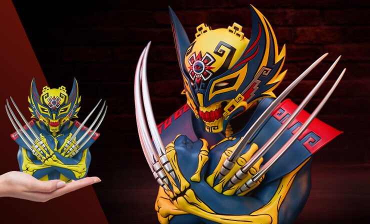 Final Photos of the Wolverine Designer Collectible Toy by Artist Jesse Hernandez