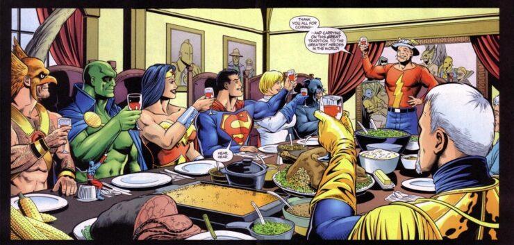 JSA #54 (DC Comics) Writer: Geoff Johns Artist: Don Kramer Colors: John Kalisz